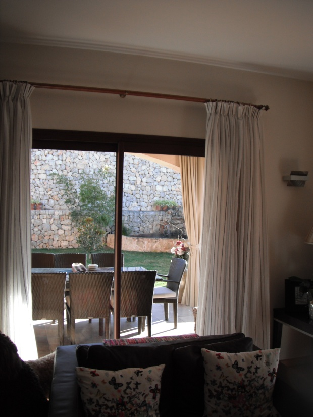 Silver thtread voiles and outdoor curtains